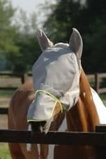 Equilibrium field relief max fly mask grey/yellow